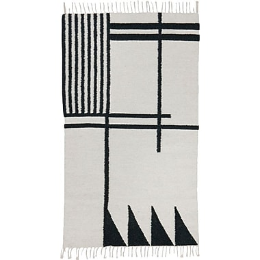 Scantrends Hand-Loomed Ivory Area Rug; Runner 2'7'' x 4'7''