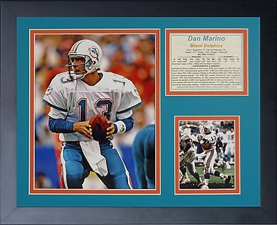 Legends Never Die Dan Marino Away Framed Memorabilia WYF078280200561