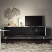 Modloft Christopher 72'' TV Stand; White Matte