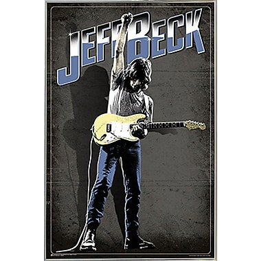 Frame USA 'Jeff Beck' Framed Vintage Advertisment on Paper