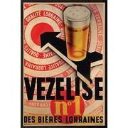 Frame USA 'Beer Vezelise' Framed Vintage Advertisment on Paper