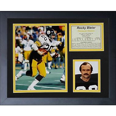 Legends Never Die Rocky Bleier Framed Memorabilia