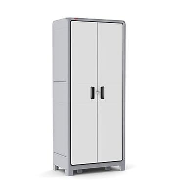 keter optima wonder plastic h x w x 18u0027 - Locking Storage Cabinet