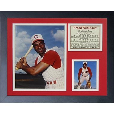 Legends Never Die Frank Robinson - Reds Framed Memorabilia