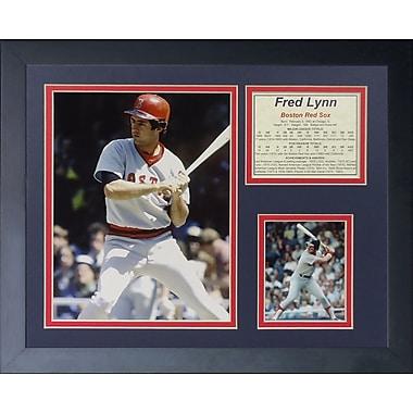 Legends Never Die Fred Lynn Framed Memorabilia