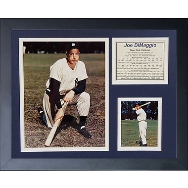Legends Never Die Joe DiMaggio Framed Memorabilia