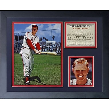 Legends Never Die Red Schoendienst Framed Memorabilia