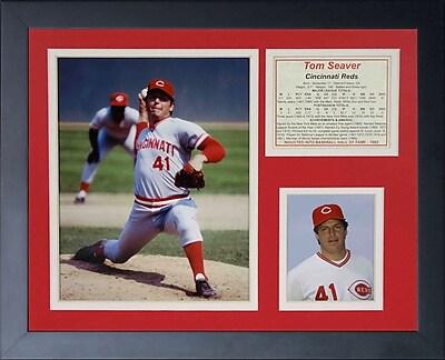 Legends Never Die Tom Seaver - Reds Framed Memorabilia
