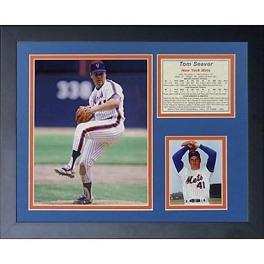 Legends Never Die Tom Seaver Mets Framed Memorabilia