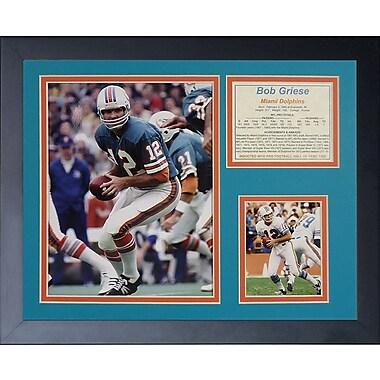 Legends Never Die Bob Griese Framed Memorabilia