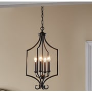 Darby Home Co Bourneville 4-Light Foyer Pendant