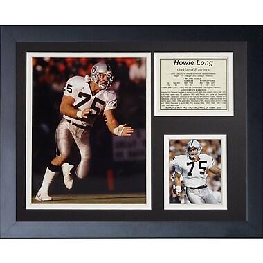 Legends Never Die Howie Long Framed Memorabilia