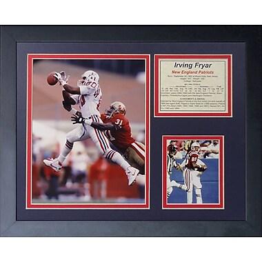 Legends Never Die Irving Fryar Framed Memorabilia