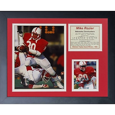 Legends Never Die Mike Rozier Framed Photographic Print
