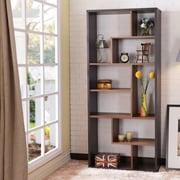 ACME Furniture Chas 71'' Cube Unit Bookcase; Espresso