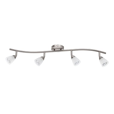 Luminance GU10, Rail Lighting, Satin Nickel Finish, (F2987-80)