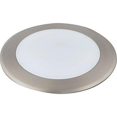 Luminance LED Disk Recessed Lighting, Satin Nickel Finish, (F9908-53)