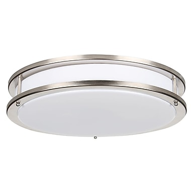 Luminance LED Integrated, Ceiling Lighting, Bright Satin Finish, (F9915-80)