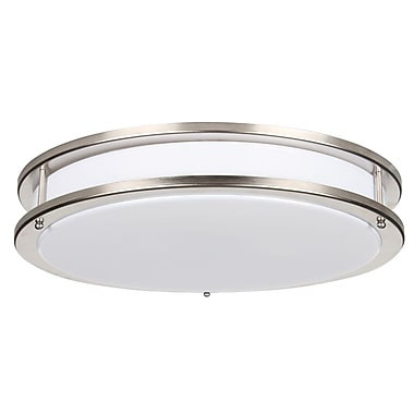Luminance LED Integrated, Ceiling Lighting, Bright Satin Finish, (F9916-80)