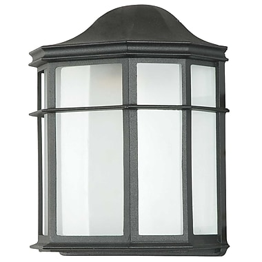 Luminance LED Integrated, Wall Lantern, Black, (F9923-31)