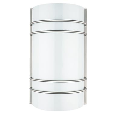 Luminance Integrated LED Wall Sconce, Satin Nickel, (F9085-80)