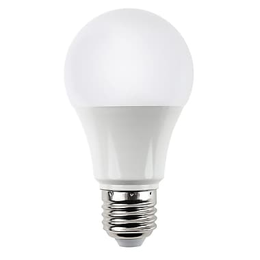 AspirAsia 10W Frosted LED A19 Light Bulbs, 12/Pack, (A19Y10W50KDM-12)