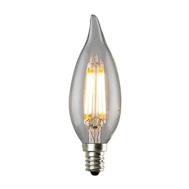 Luminance 3.5W Clear, LED CA12 Light Bulbs, 12/Pack, (L7589-1/RP12)