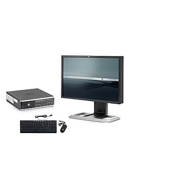 HP-PC de table Elite 8300 SFF remis à neuf, moniteur ACL 22 po, 3,2 GHz Intel Core i5-3470, SSD 240Go, 8Go DDR3, Win 10 Pro