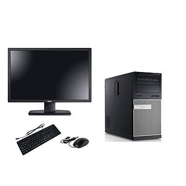 Dell - PC de table OptiPlex 790 remis à neuf et moniteur ACL 22 po, 3,1 GHz Intel Core i3-2100, DD 1 To, 8 Go DDR3, Win10 Pro