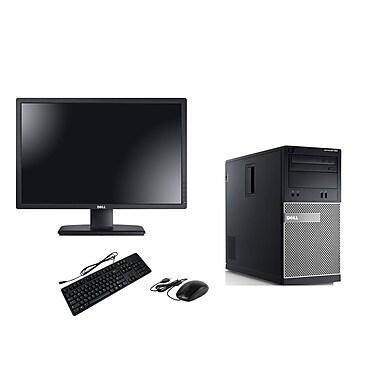 Dell-PC de table OptiPlex 390 remis à neuf et moniteur ACL 22po, 3,1 GHz Intel Core i3-2100, DD 500 Go, 4 Go DDR3, Win10 Famille