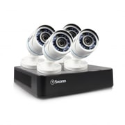 Swann Security In a Box 8-Channel Security System, 4 x All-Weather 720p HD Cameras, 500 GB (SWDVK-HDHOMK84)