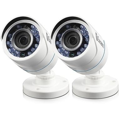 Swann – Caméras de sécurité supplémentaires HD 720p Security In a Box toutes saisons, blanc, paq./2 (SWPRO-HDCAMPK2)