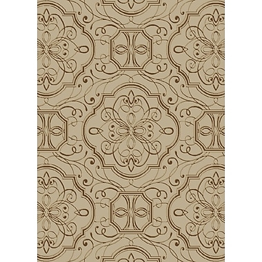 Darby Home Co Eula Brown/Gray Area Rug; 5' x 8'