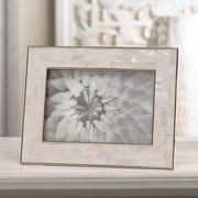 Zingz & Thingz Mother of Pearl Picture Frame; 4'' x 6''
