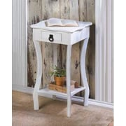 Zingz & Thingz Scalloped End Table