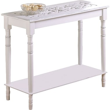 Zingz & Thingz Carved End Table