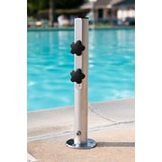 Frankford Umbrellas Camlock - Commercial Aluminum Mounted Umbrella Base