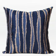 G Home Collection Luxury Wave Stripe Embroidered Throw Pillow