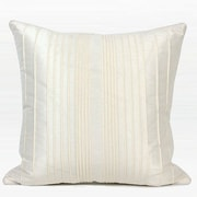 G Home Collection Luxury Striped Textured Throw Pillow