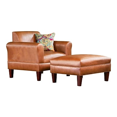 Carolina Accents Tracy Porter Arm Chair w/ Accent Pillow