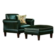 Carolina Accents Tracy Porter Arm Chair and Ottoman
