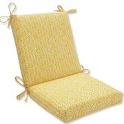 Pillow Perfect Herringbone Outdoor Adirondack Chair Cushion