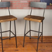 Napa East Collection Industrial Farm 36'' Bar Stool