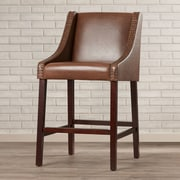 Darby Home Co 29.5'' Bar Stool; Brown