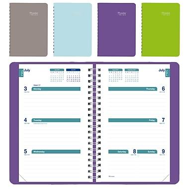 Blueline® – Agenda scolaire hebdomadaire 2017/2018, 8 po x 5 po, couleurs variées, anglais