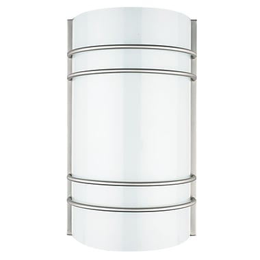 Luminance Integrated LED Wall Sconce, Satin Nickel, (F9919-80)