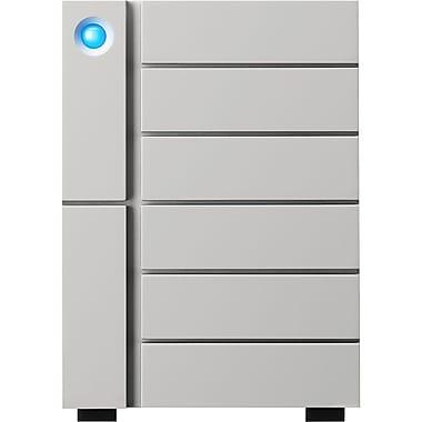 LaCie 6big Thunderbolt 3 48TB Desktop RAID Storage, 6-Bay (STFK48000400)