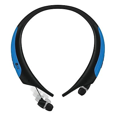 LG Tone Active Bluetooth Wireless Headset, Blue (HBS-850.ACCABL)