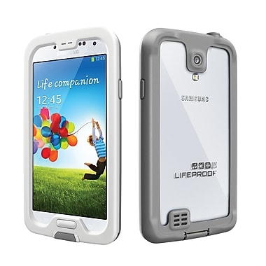 LifeProof fre Case for Galaxy S4, White/Grey (1802-02)