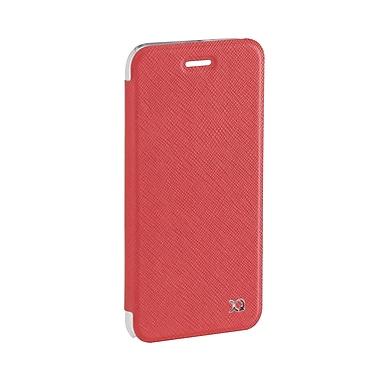 XQISIT - Étui à rabat Adour pour iPhone 7, rouge (26471)